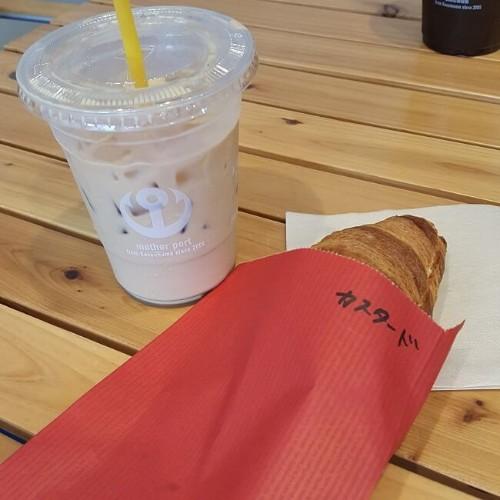 楽天生命パーク グルメ おすすめ マザーポートコーヒー スイーツクロワッサン