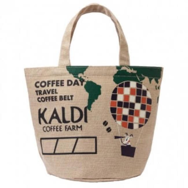 カルディ 限定 バッグ 2017年カルディコーヒーの日バッグデザイン