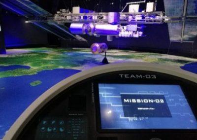 子供 遊び場 関東 八王子 サイエンスドーム 国際宇宙ステーション(ISS)の1/10模型の 展示