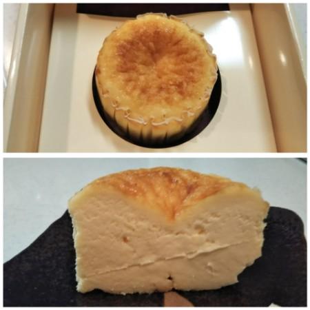 ガスタ チーズケーキ 東京・白金 ガスタ チーズケーキ 断面