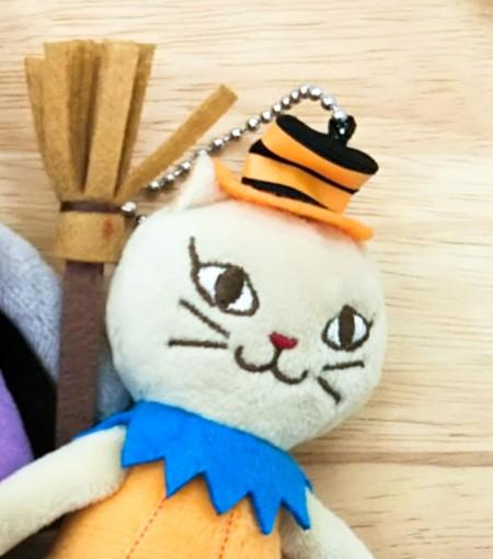 カルディ ハロウィン ねこ くたくたネコ 白ネコジャックちゃん