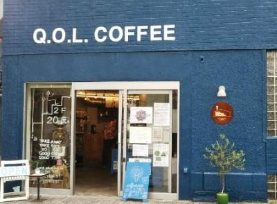 名古屋グルメ Q.O.L.COFFEEー
