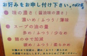 立川 つばさや 立川 ラーメン ランキング 家系ラーメン メニューお好み
