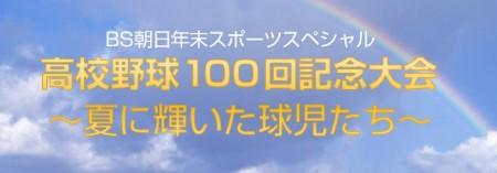 高校野球100回記念大会~夏に輝いた球児たち~