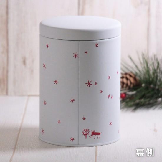 クリスマス限定 カルディオリジナル ノエル&キャニスター缶セット キャニスター缶裏
