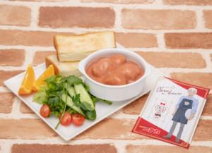 名探偵コナンカフェ 2019 コナンカフェ 安室透特製!ミートボールとキャベツのミルクトマト煮 ポストカード付き