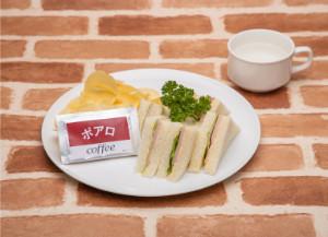 名探偵コナンカフェ 2019 コナンカフェ 安室透特製!喫茶ポアロのハムサンド コンソメパウダーの袋添え