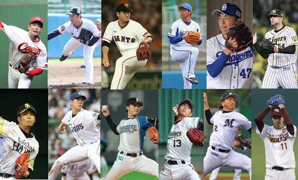 2019プロ野球12球団開幕投手とローテーション