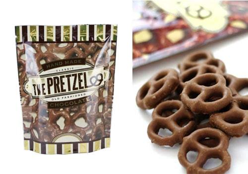 カルディ おすすめ 輸入菓子 ザ・プレッツェル ミルクチョコプレッツェル