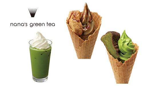 東京ドーム内 グルメ nana's green tea