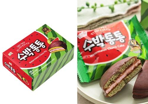 カルディ おすすめ 輸入菓子 SFC スイカチョコパイ