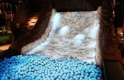 子供 室内遊具場 立川高島屋ドコドコ 立川 冒険の島 ジャングルエリア ドドドの滝