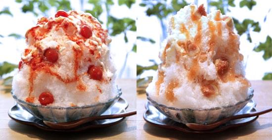 麻布野菜菓子 ミニトマトのかき氷 無花果のかき氷 マツコの知らない世界 かき氷の世界 かき氷