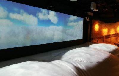 立川高島屋ドコドコ 立川 冒険の島 室内遊具場 雲の上エリアのふわふわ雲の上