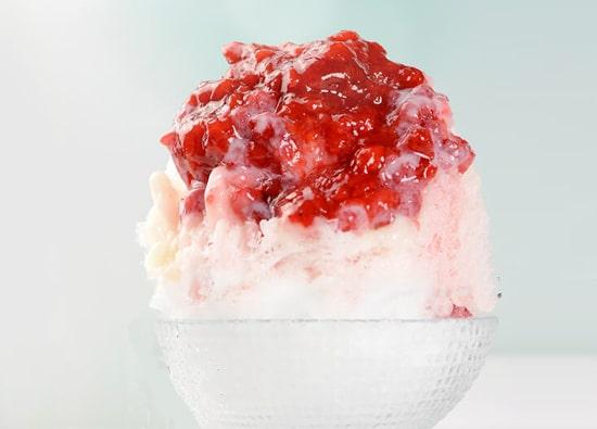 銀座のジンジャー 銀座店 いちごかき氷 マツコの知らない世界 かき氷の世界 かき氷