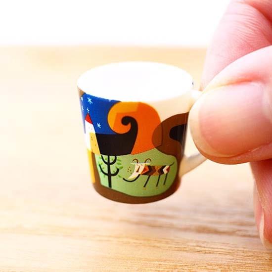 カルディ ミニチュアフィギュア マグカップ