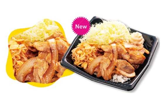 2019 甲子園グルメ 鳥谷の鶏もも生姜焼き丼