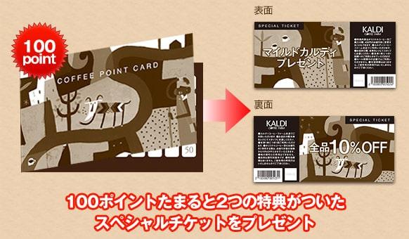 カルディ 夏のコーヒーバッグ2019 コーヒーポイントカード