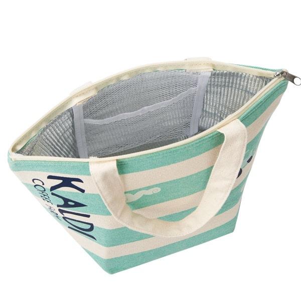 カルディ 夏のコーヒーバッグ2019 オリジナル 保冷バッグ(内側)