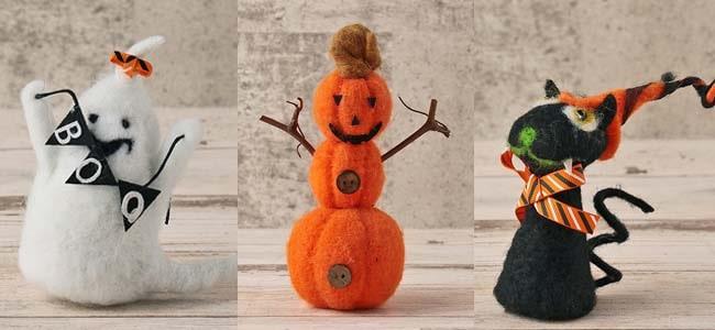 カルディブログ カルディハロウィン カルディ ハロウィン halloween kaldihalloween   カルディオリジナル ハロウィンフェルト