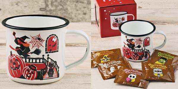 カルディブログ カルディハロウィン カルディ ハロウィン halloween kaldihalloween   カルディオリジナル ハロウィンパーティーホーローマグカップ