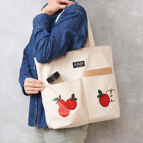 カルディ りんごバッグ