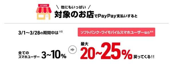 超PayPay祭 他にもいろんなお店でPayPay(ペイペイ)支払いしておトク! 超PayPay祭 ちょうペイペイまつり PayPay(ペイペイ)新規利用で最大50%還元+最大1000円相当もらえる! ペイペイとは PayPay ペイペイ ぺいぺい PayPay店舗 ペイペイ店舗キャッシュレス アップルペイ  ペイペイとは何? アリペイ スマホ決済サービス QR決済 バーコード決済 ペイペイ アプリ ペイペイ 評判 ペイペイ 加盟店 ペイペイ 使える店 ペイペイ スタバ ペイペイ セブン ペイペイ セブンイレブン PayPay スタバ PayPay セブン PayPay セブンイレブン